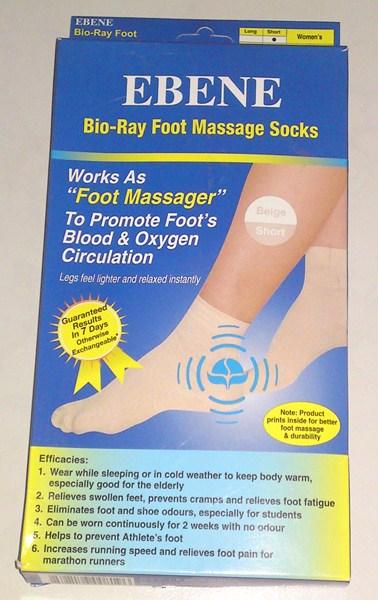 Ebene Bio-Ray Foot Massage Socks (1/4)